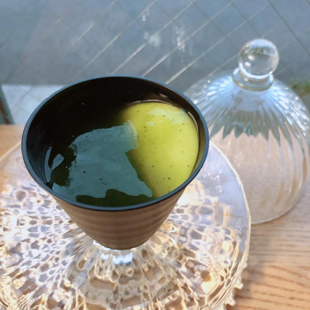 抹茶ババロア ¥486(450)